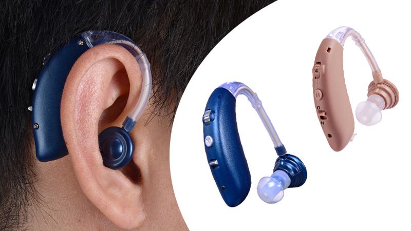 BTE بلوتوث السمع مع بطاريات قابلة للشحن